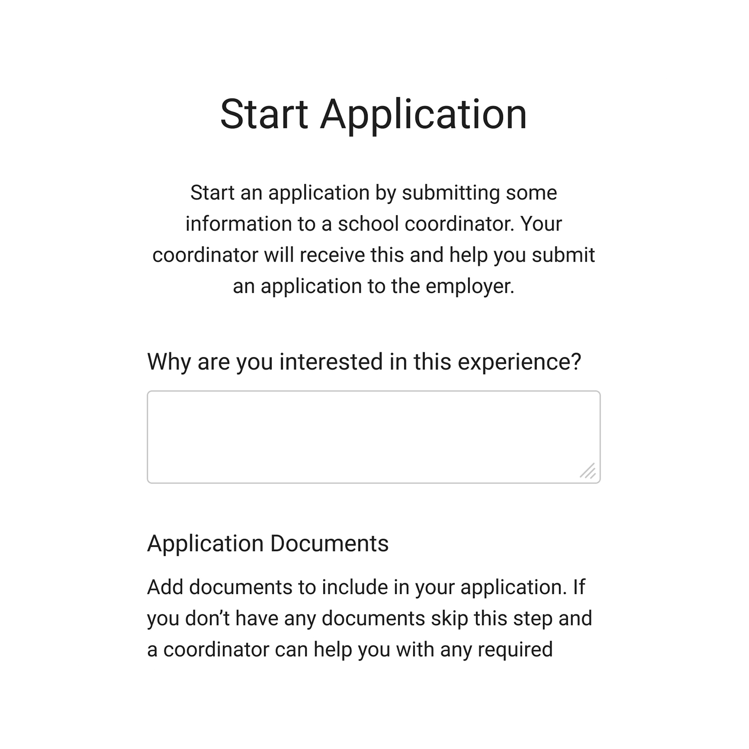 In-App-Student-Application-Process